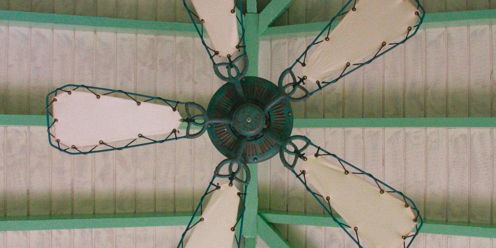 'Caribbean ceiling fan' by Brian Snelson