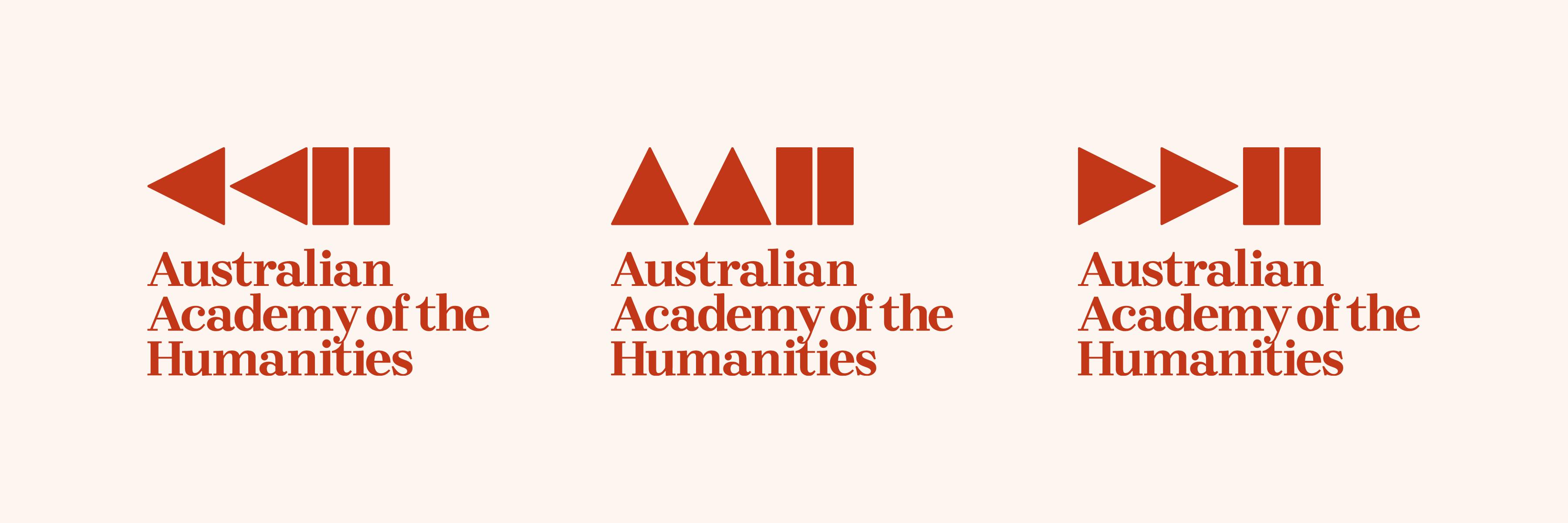 Australian Academy of Humanity logo
