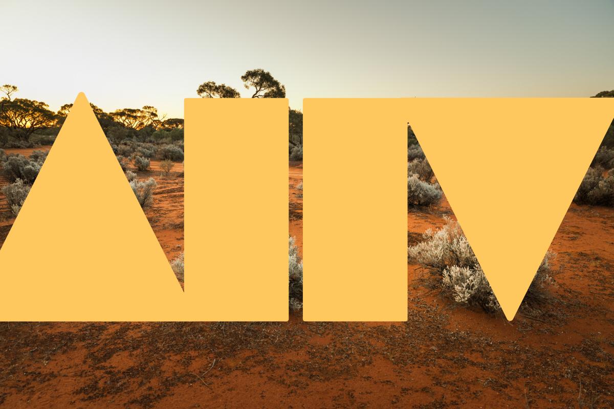 Australian outback dessert with Academy logo