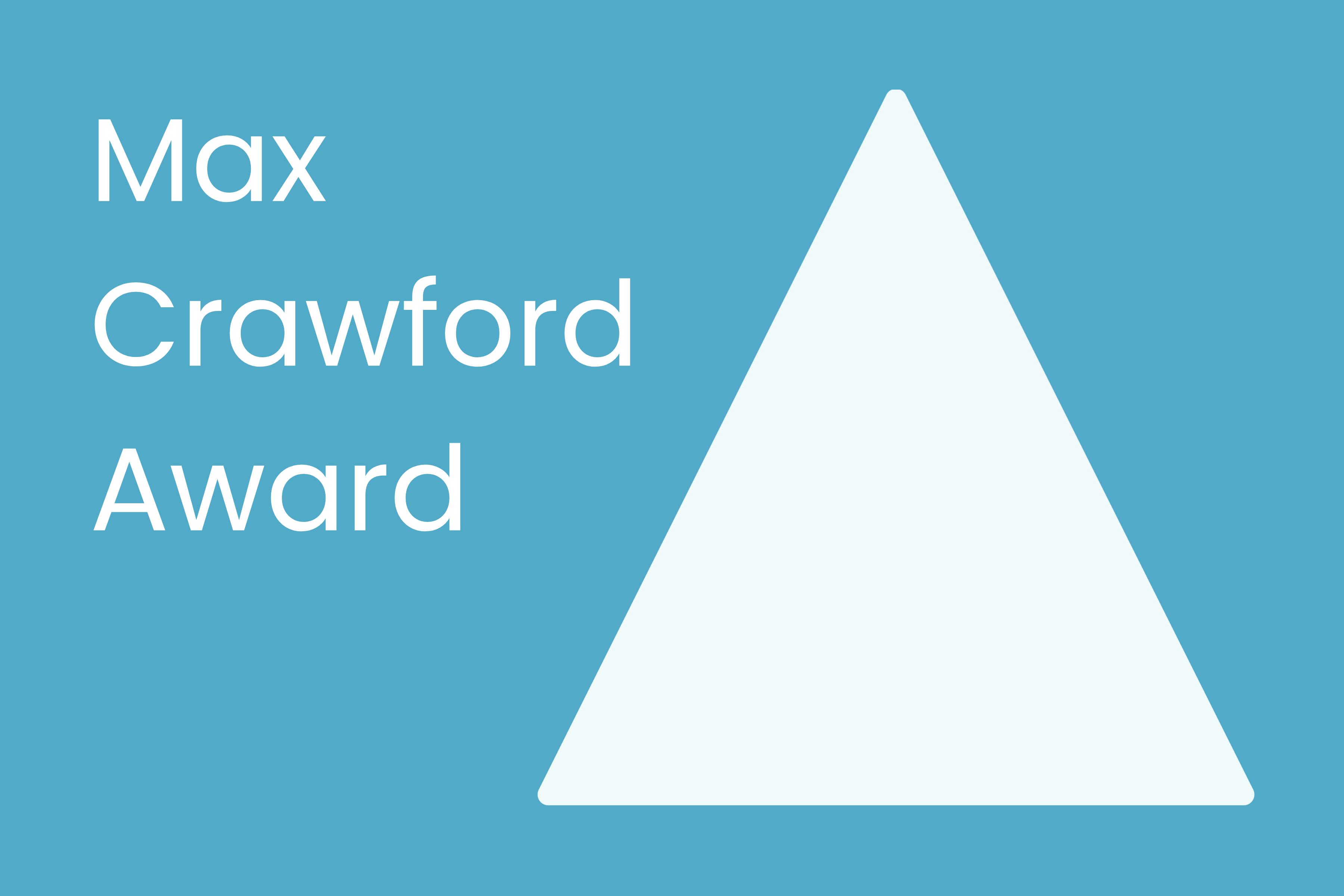 Max Crawford Award