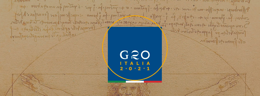 G20 Italia logo
