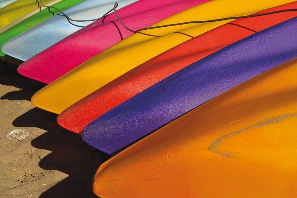 'Kayaks' (Kalbarri, WA) by Chris Fithall