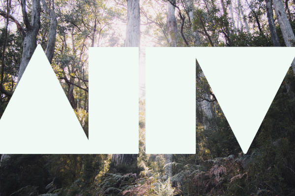 Trees with AAH logo overlayed